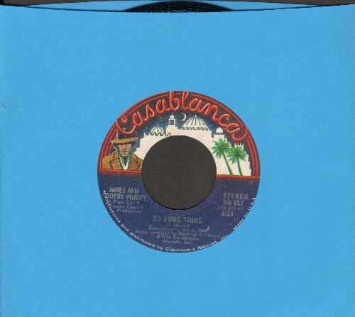 Purify, James & Bobby - Do Your Thing/Why Love - NM9/ - 45 rpm Records
