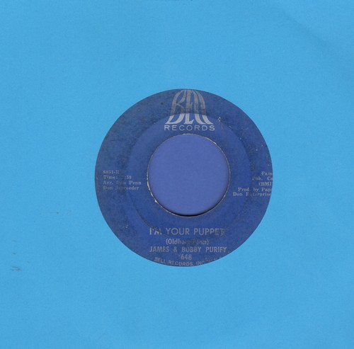 Purify, James & Bobby - I'm Your Puppet/So Many Reasons  - VG6/ - 45 rpm Records