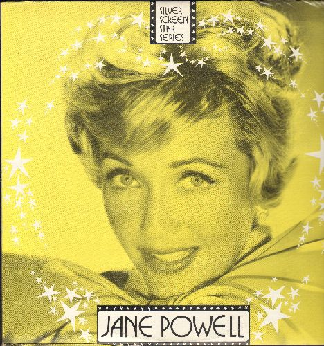 Powell, Jane - Jane Powell: It's A Most Unusual Day, The Trolley Song, I've Told Ev'ry Little Star, Smoke Gets In Your Eyes (vinyl LP record, re-issue of vintage recordings) - NM9/VG7 - LP Records