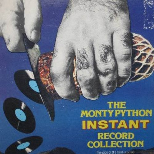 Monty Python - The Monty Python Instant Record Collection: Pet Shop, How Do You Tell A Witch, The Cheese Shop, The Phone-In, The Lumberjack Song, World Forum, Blackmail, Bookshop, many more! (Vinyl LP record) - EX8/VG7 - LP Records
