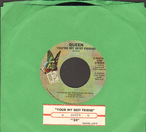 Queen - You're My best Friend/'39 (with juke box label) - EX8/ - 45 rpm Records