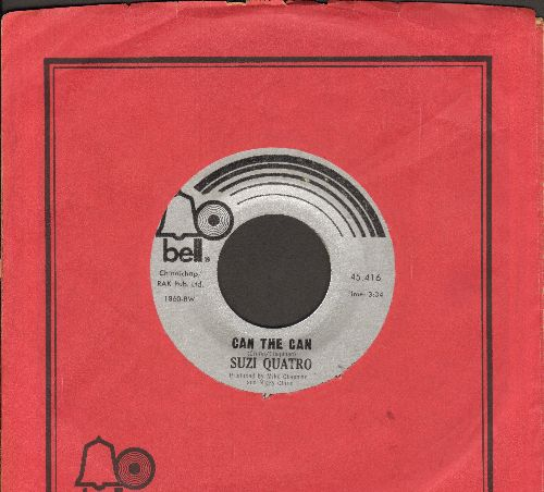 Quatro, Suzi - Can The Can/Ain't Ya Somethin' Honey (with Bell company sleeve) - NM9/ - 45 rpm Records
