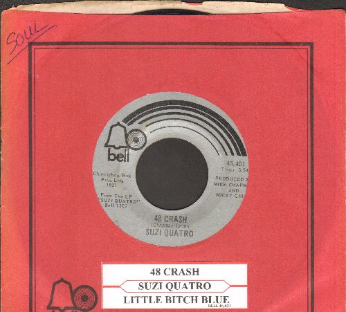 Quatro, Suzi - 48 Crash/Glycerine Queen (with Bell company sleeve and juke box label) - VG7/ - 45 rpm Records