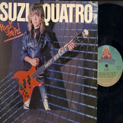 Quatro, Suzi - Rock Hard: Glad All Over, Pipstick, Wish Upon Me, Love Is Ready (Vinyl STEREO LP record) - NM9/VG7 - LP Records