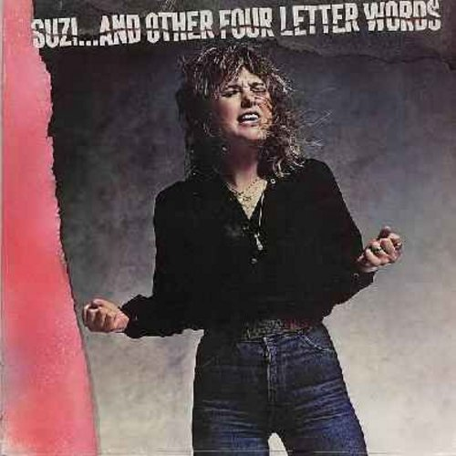 Quatro, Suzi - Suzi…And Other Four Letter Words: She's In Love With You, I've Never Been In Love, Mam's Boy, Hollywood (vinyl LP record, SEALED, never opened!) - SEALED/SEALED - LP Records