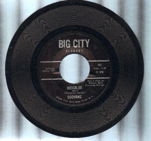 Quovans - Boogaloo (parts 1 + 2) (RARE Soul/Funk Novelty! - EX8/ - 45 rpm Records