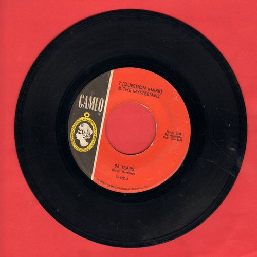 Question Mark & The Mysterians - 96 Tears/Midnight Hour (wol) - VG7/ - 45 rpm Records