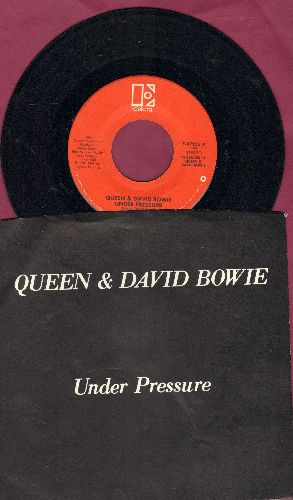 Quuen & David Bowie - Under Pressure (with original guitar-riff to later be used in Vanilla Ice Rap Classic