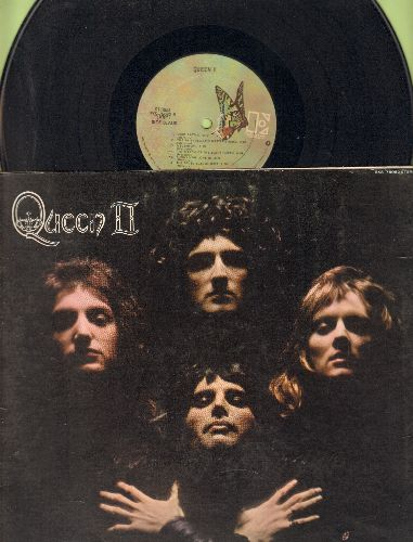 Queen - Queen II: Procession, Father To Son, The Loser In The End, Ogre Battle, Nevermore (vinyl STEREO LP record, gate-fold cover) - EX8/EX8 - LP Records