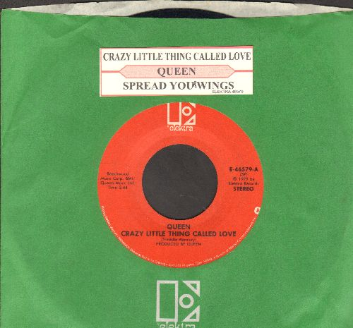 Queen - Crazy Little Thing Called Love/Spread Your Wings (with juke box label) - NM9/ - 45 rpm Records