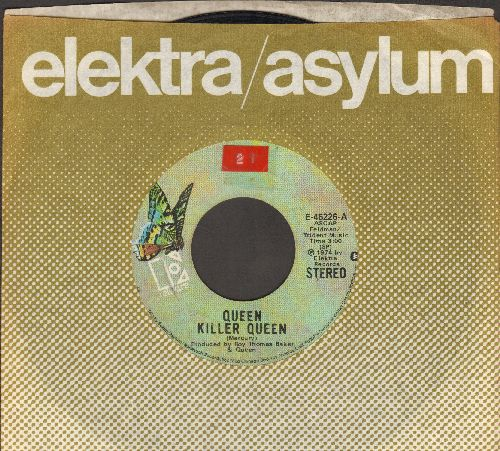 Queen - Killer Queen/Flick Of The Wrist (with Elektra company sleeve) (sol) - VG6/ - 45 rpm Records