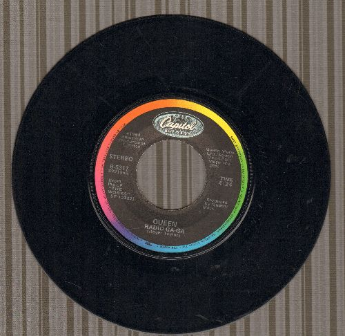 Queen - Radio Ga-Ga/I Go Crazy  - VG7/ - 45 rpm Records