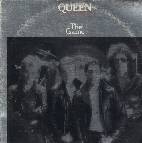 Queen - The Game: Another One Bites The Dust, Crazy Little Thing Called Love,Play The Game, Save Me (Vinyl STEREO LP record) - EX8/VG7 - LP Records