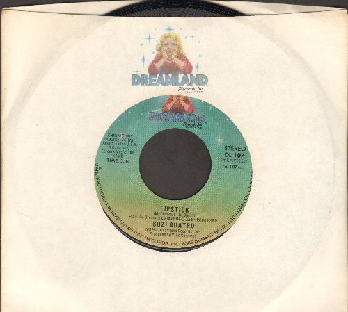 Quatro, Suzi - Lipstick/Woman Cry (with RARE Dreamland company sleeve) - NM9/ - 45 rpm Records