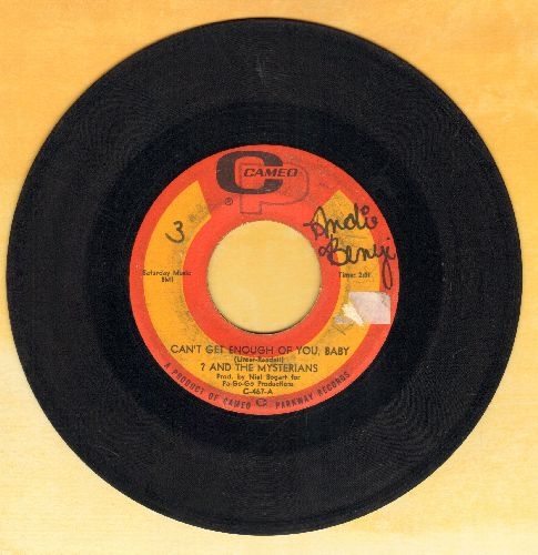 Question Mark & The Mysterians - Can't Get Enough Of You, Baby/Smokes (wol) - VG6/ - 45 rpm Records