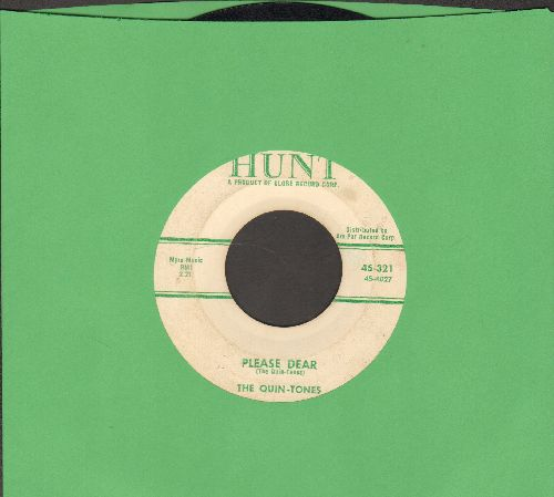 Quin-Tones - Down The Aisle Of Love/Please Dear  - VG7/ - 45 rpm Records
