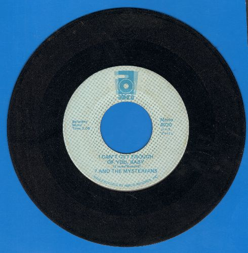 Question Mark & The Mysterians - 96 Tears/I Can't Get Enough Of You, Baby (double-hit re-issue) - VG7/ - 45 rpm Records