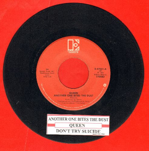 Queen - Another One Bites The Dust/Don't Try Suicide (with juke box label) - NM9/ - 45 rpm Records