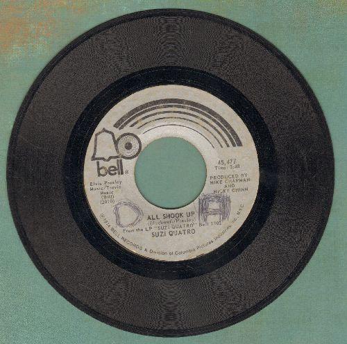 Quatro, Suzi - All Shook Up/Glycerine Queen - G5/ - 45 rpm Records