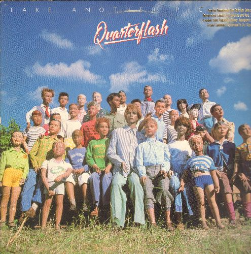 Quarterflash - Take Another Picture: Take Me To Heart, It Don't Move Me, Shakin' The Jinx, It All Becomes Clear, Make It Shine (Vinyl STEREO LP record, DJ advance pressing) - NM9/VG7 - LP Records