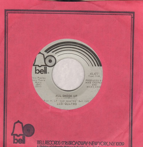 Quatro, Suzi - All Shook Up/Glycerine Queen - EX8/ - 45 rpm Records