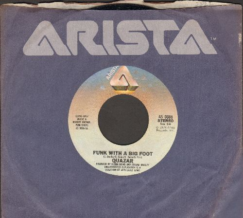 Quazar - Funk With A Big Foot/Starlight Circus (with Arista company sleeve) - NM9/ - 45 rpm Records