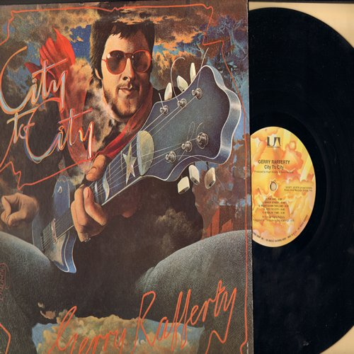 Rafferty, Gerry - City To City: Baker Street, Mattie's Rag, Stealin' Time, The Ark, Home And Dry (vinyl LP record) - EX8/VG7 - LP Records