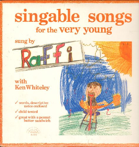 Raffi - Singable Songs sung by Raffi with Ken Whiteley (vinyl LP record) - NM9/EX8 - LP Records