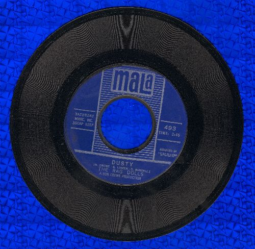 Rag Dolls - Dusty/Hey, Hoagy  - NM9/ - 45 rpm Records