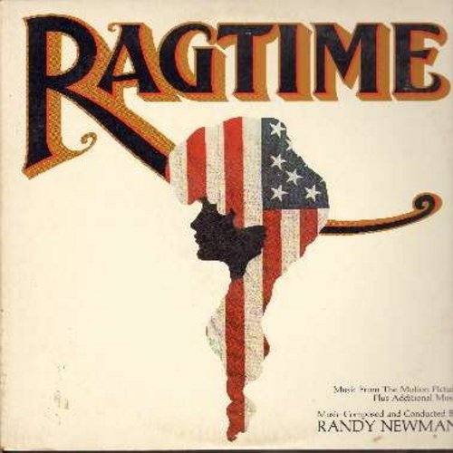 Newman, Randy - Ragtime - Original Motion Picture Sound Track (Vinyl STEREO LP record, DJ advance copy) - NM9/VG7 - LP Records