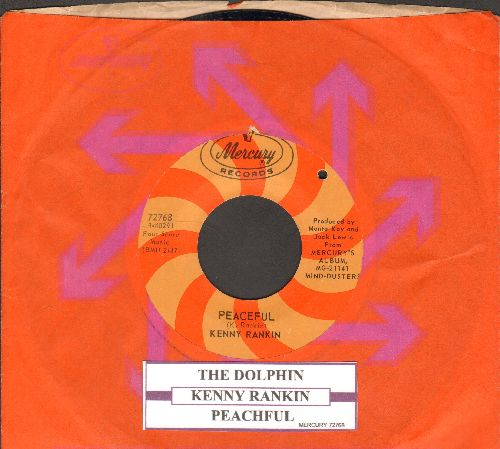 Rankin, Kenny - Peaceful/The Dolphin (RARE 1967 first pressing with Mercury company sleeve and juke box label)(bb) - NM9/ - 45 rpm Records
