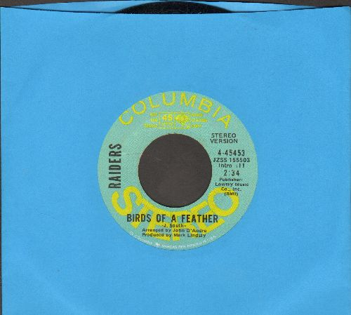 Raiders - Birds Of A Feather (double-A-sided DJ advance pressing) - NM9/ - 45 rpm Records