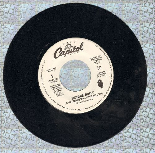 Raitt, Bonnie - I Can't Make You Love Me/Come To Me - NM9/ - 45 rpm Records