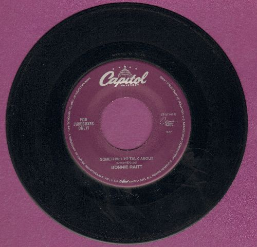 Raitt, Bonnie - Something To Talk About/I Can't Make You Love Me - EX8/ - 45 rpm Records