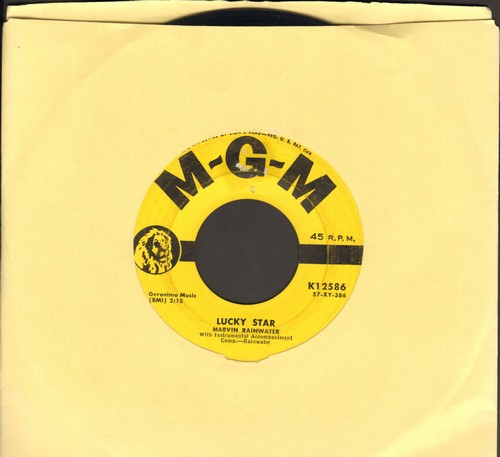 Rainwater, Marvin - Lucky Star/Look For Me (wol) - VG7/ - 45 rpm Records