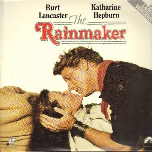 The Rainmaker - The Rainmaker - The 1956 Romance Classic starring Katherine Hepburn and Burt Lancaster - THIS IS A SET OF 2 LASERDISCS, NOT ANY OTHER KIND OF MEDIA! - NM9/NM9 - LaserDiscs