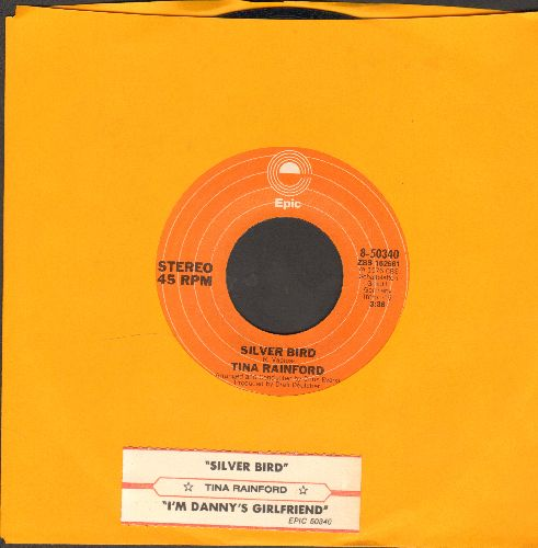 Rainford, Tina - Silver Bird/I'm Danny's Girlfriend (with juke box label) - EX8/ - 45 rpm Records