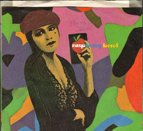 Prince - Raspberry Beret/she's Always In My Hair (with Picture Sleeve)