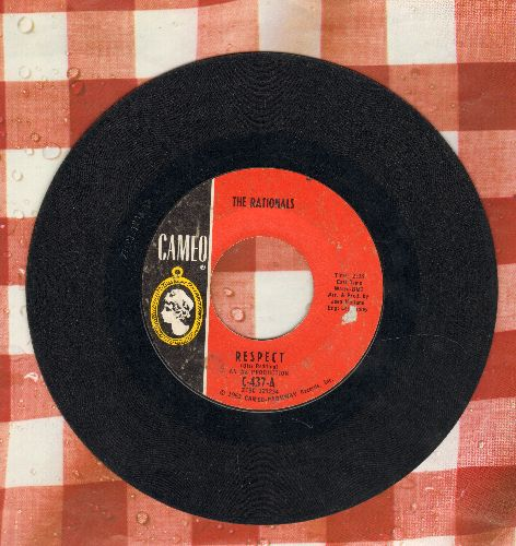 Rationals - Respect/Feelin' Lost  - VG7/ - 45 rpm Records