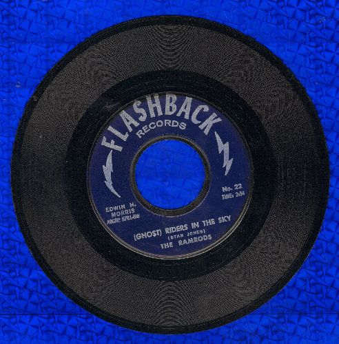 Ramrods - (Ghost) Riders In The Sky/Zig Zag (early re-issue) - M10/ - 45 rpm Records