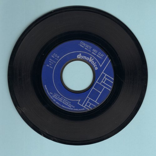 Rambeau, Eddie - Concrete And Clay/Don't Believe Him - NM9/ - 45 rpm Records