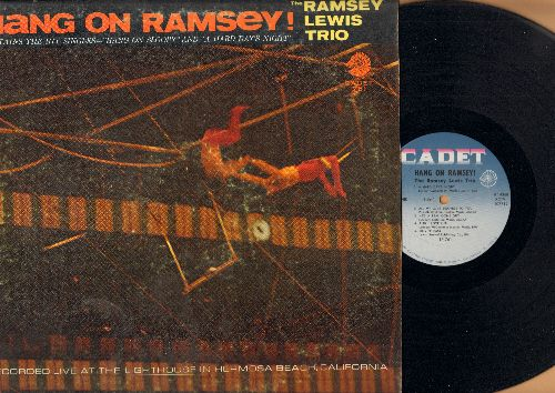 Lewis, Ramsey Trio - Hang On Ramsey!: A Hard Day's Night, He's A real Gone Guy, Billy Boy, The More I See You (Vinyl MONO LP record) - EX8/VG7 - LP Records
