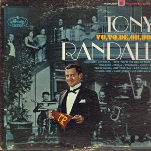 Randall, Tony - Vo,Vo,De, Oh, Doe: Winchester Cathedral, Wilkomen, Lucky Lindy, Boo Hoo (Vinyl STEREO LP record) - EX8/VG6 - LP Records