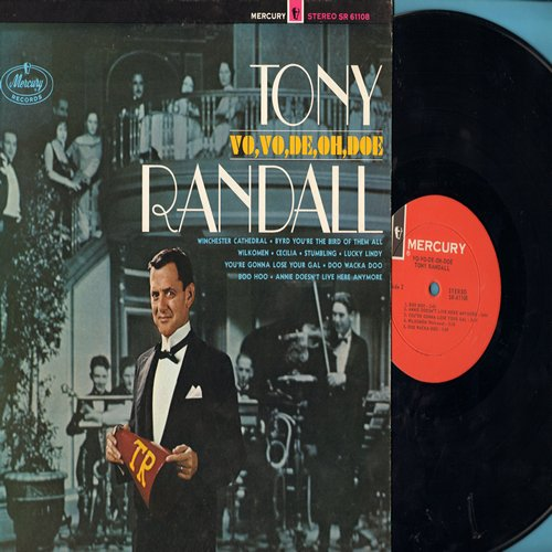 Randall, Tony - Vo,Vo,De, Oh, Doe: Winchester Cathedral, Wilkomen, Lucky Lindy, Boo Hoo (Vinyl STEREO LP record, NICE condition!) - NM9/NM9 - LP Records