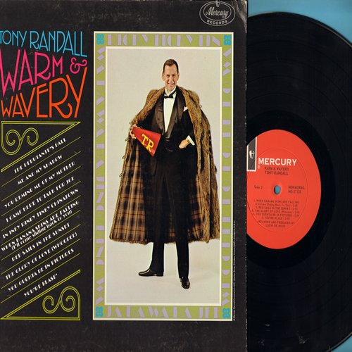 Randall, Tony - Warm & Wavery: When Banana Skins Are Falling (I'll Come Sliding Back To You), The Glory Of Love, You Oughta Be In Pictures, The Debutante's Ball, Me And My Shadow (Vinyl MONO LP record) - M10/EX8 - LP Records