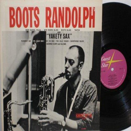 Randolph, Boots - Yakety Sax, Runaway Sax, Twitch, Sax On Wax, Beer Barrel Polka (Vinyl MONO LP record) - NM9/EX8 - LP Records
