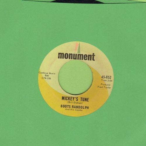 Randolph, Boots - Mickey's Tune/Kathleen - EX8/ - 45 rpm Records