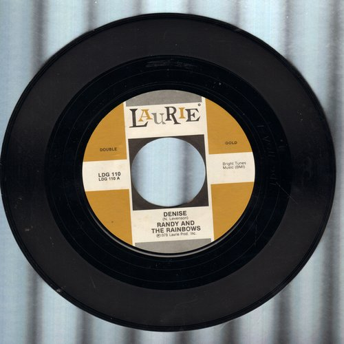 Randy & The Rainbows - Denise/My Block (by The Four Pennies on flip-side) (re-issue) - NM9/ - 45 rpm Records