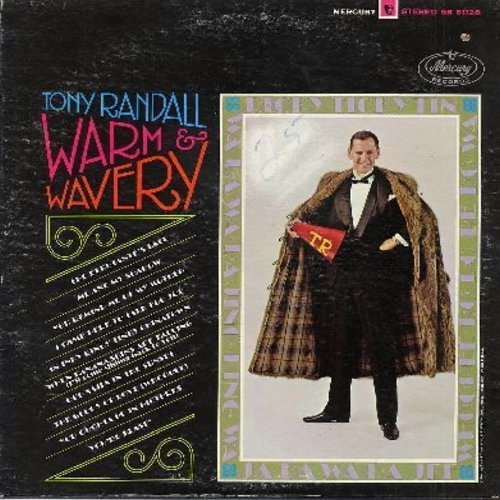 Randall, Tony - Warm & Wavery: When Banana Skins Are Falling (I'll Come Sliding Back To You), The Glory Of Love, You Oughta Be In Pictures, The Debutante's Ball, Me And My Shadow (vinyl STEREO LP record) - EX8/VG7 - LP Records