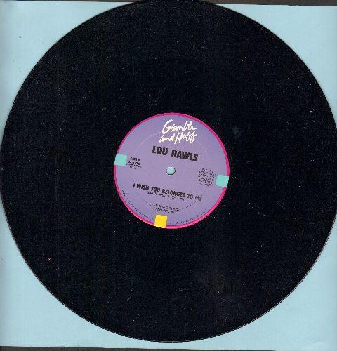 Rawls, Lou - I Wish You Belonged To Me/It's A Tough Job (But Somebody's Got To Do It) (12 inch vinyl Mxi Single) - NM9/ - Maxi Singles